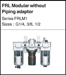 FRL Modular without piping adaptor